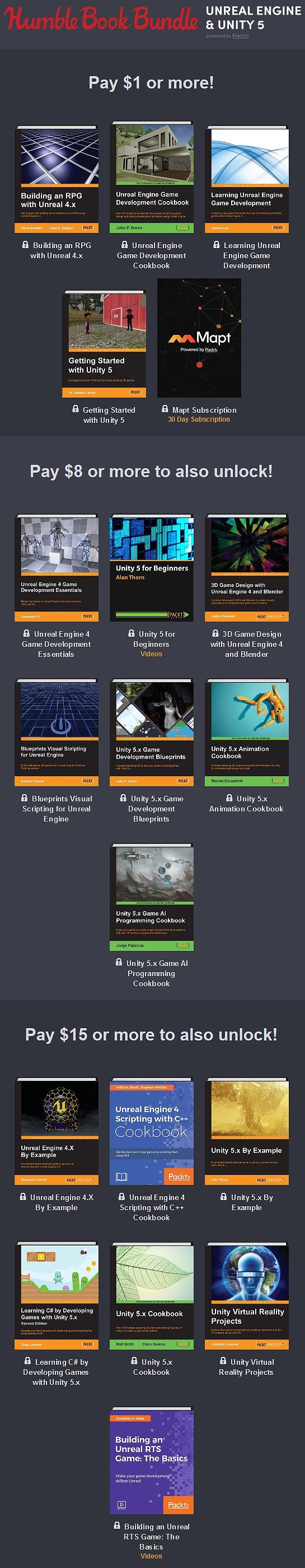 jasonjss: Humble Book Bundle: Unreal Engine & Unity 5